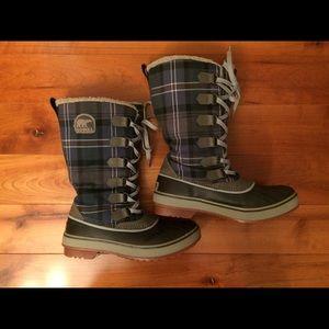 Sorel Trivoli Waterproof Fleece Lined Boots Size 7